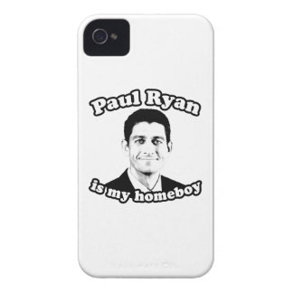 PAUL RYAN IS MY HOMEBOY iPhone 4 CASE