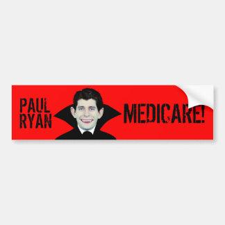 Paul Ryan Loves Medicare Car Bumper Sticker