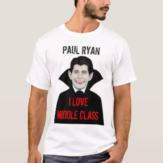 Paul Ryan Loves Middle Class T-Shirt