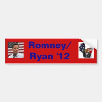 paul ryan, mitt romney, Romney/Ryan '12 Car Bumper Sticker