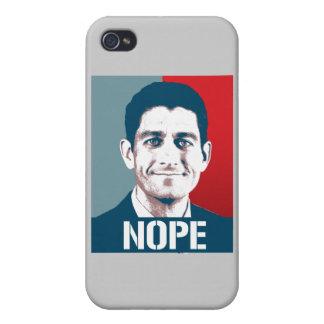 PAUL RYAN NOPE png iPhone 4/4S Cases