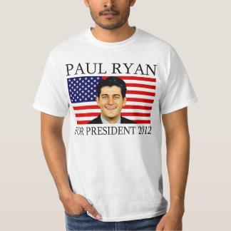Paul Ryan para el presidente 2012 Playera