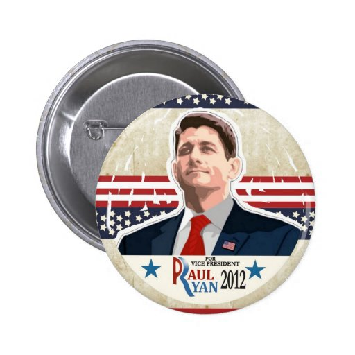 Paul Ryan para el vicepresidente en 2012 Pin