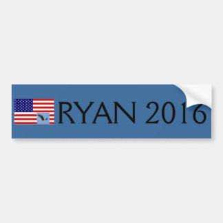 Paul Ryan para la pegatina para el parachoques del Pegatina Para Auto
