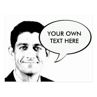 Paul Ryan -.png Postcard