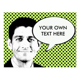 Paul Ryan Postcard