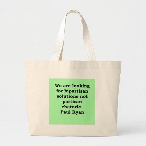 paul ryan quote bags