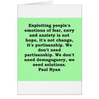 paul ryan quote cards