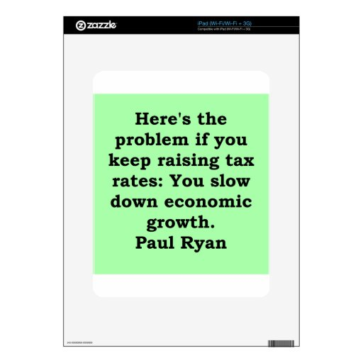 paul ryan quote decals for iPad