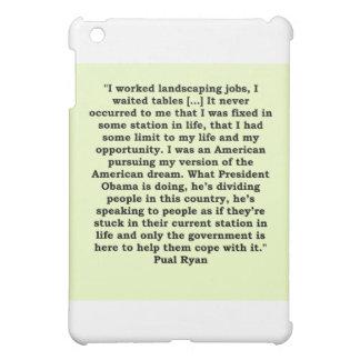 paul ryan quote iPad mini covers