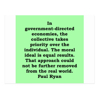 paul ryan quote post cards