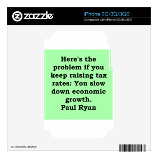 paul ryan quote decal for iPhone 3GS