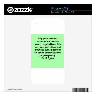 paul ryan quote decal for the iPhone 4S