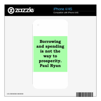 paul ryan quote skins for the iPhone 4S