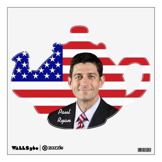 Paul Ryan - Tea Party Favorite Wall Decal