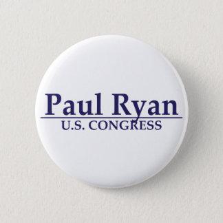 Paul Ryan U.S. Congress Button