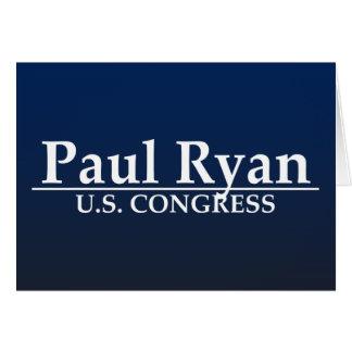 Paul Ryan U.S. Congress Greeting Cards