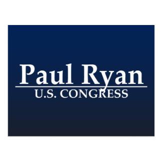 Paul Ryan U.S. Congress Postcard