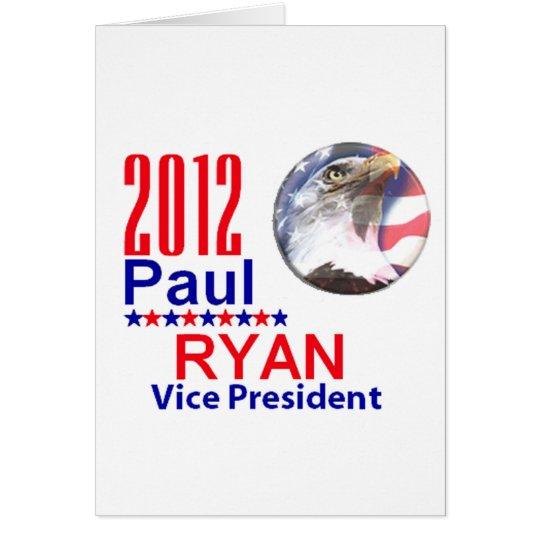 Paul Ryan VP Card