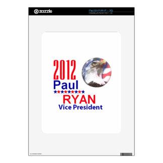 Paul Ryan VP Skins For iPad