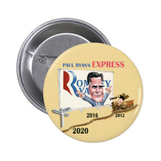 Paul Ryan's Express Pinback Button