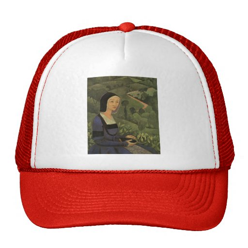 Paul Serusier- A Widow Mesh Hat