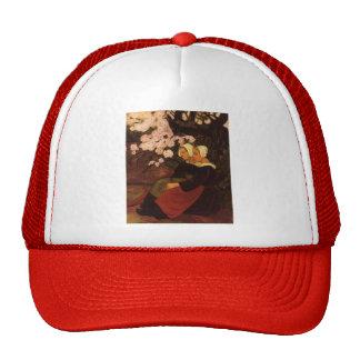 Paul Serusier- Breton Women under Apple Tree Trucker Hat
