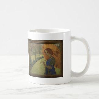 Paul Serusier- Madame Serusier with a Parasol Coffee Mugs