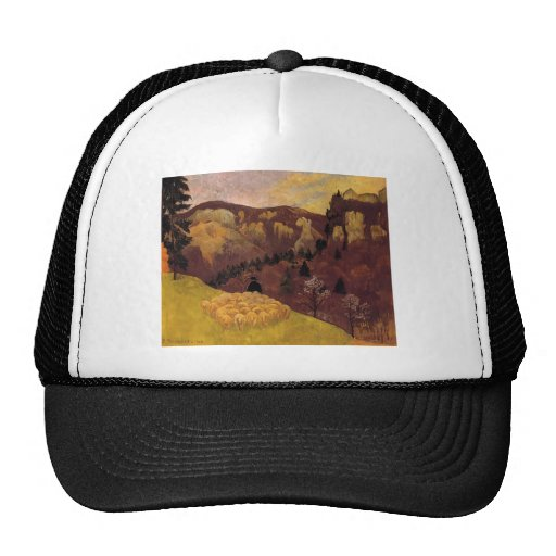 Paul Serusier- The Flock in the Black Forest Mesh Hat