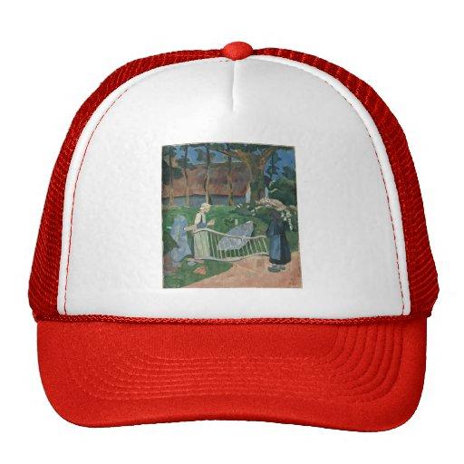 Paul Serusier- The flowered barrier Hat