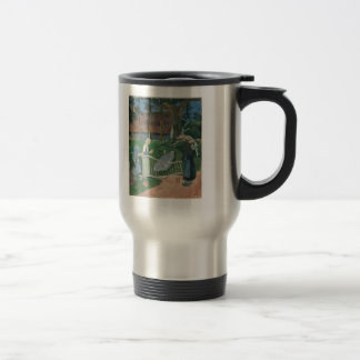 Paul Serusier- The flowered barrier Coffee Mug