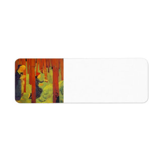 Paul Serusier- The Incantation The Holy Wood Return Address Labels