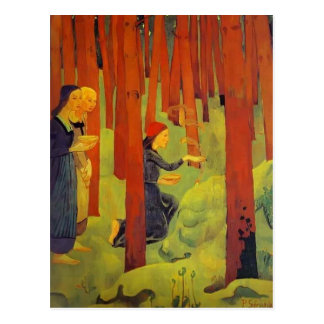 Paul Serusier- The Incantation The Holy Wood Postcards