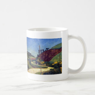 Paul Serusier- The Stagecoach Road in the Country Coffee Mug