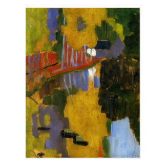 Paul Serusier- The Talisman Postcard