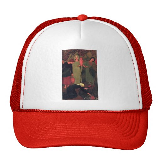 Paul Serusier- The Wait at the Well Trucker Hat