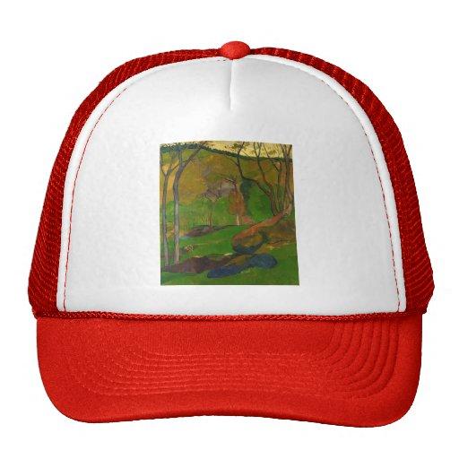Paul Serusier- Undergrowth at Huelgoat Hats