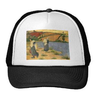 Paul Serusier- Washerwomen at Laita River, Pouldu Trucker Hat