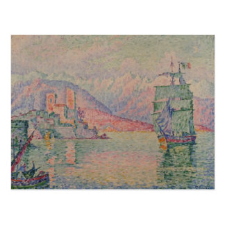 Paul Signac- Antibes, Evening Postcards