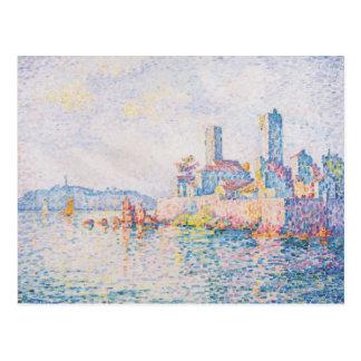 Paul Signac- Antibes, the towers Postcard