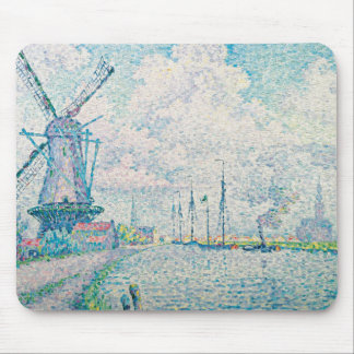 Paul Signac - Canal of Overschie Mouse Pad