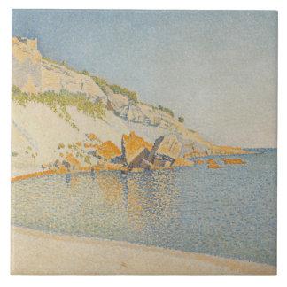 Paul Signac - Cassis, Cap Lombard, Opus 196 Ceramic Tile