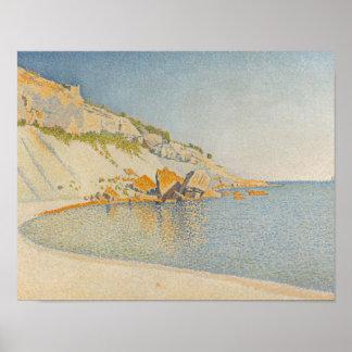 Paul Signac - Cassis, Cap Lombard, Opus 196 Poster