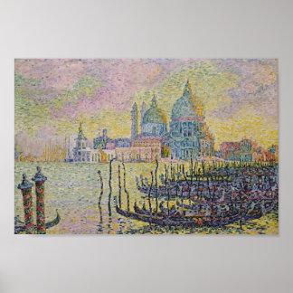 Paul Signac- Grand Canal (Venise) Poster