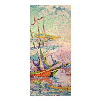 Paul Signac- Le Corne d Or Le Pont Rack Card Design