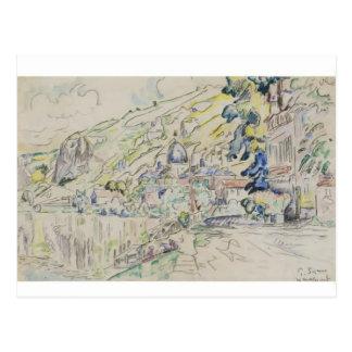Paul Signac- Les Andelys Postcard