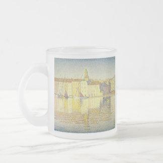 Paul Signac 10 Oz Frosted Glass Coffee Mug