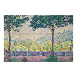 Paul Signac Painting Poster