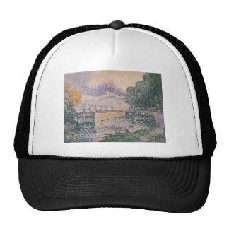 Paul Signac Painting Trucker Hat