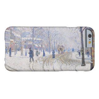 Paul Signac - Snow, Boulevard de Clichy, Paris Barely There iPhone 6 Case